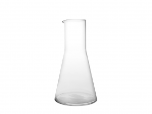 BORMIOLI LUIGI in conical glass jug lt0.5 Bottles and jugs