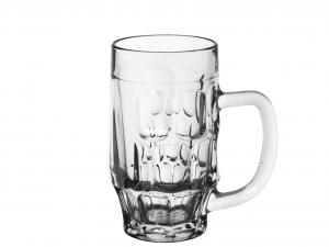 Set 6 BORGONOVO Bicchieri Vetro Con Manico Ceylon Trasparente C6 Arredo Tavola