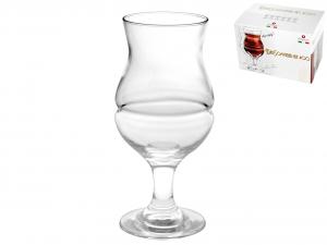 BORGONOVO Confezione 6 calici in vetro birra sommelier ale 40 Arredo tavola