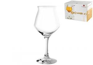 BORGONOVO Set 6 Calici vetro birra sommelier cl40 Arredo tavola