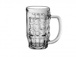 BORMIOLI ROCCO Set 6 Bicchieri In Vetro Birra Malles Con Manico 0.3 Arredo Tavola