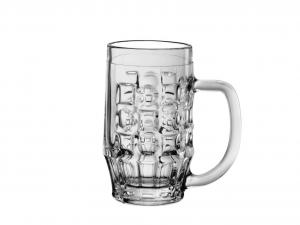 BORMIOLI ROCCO Set 6 Bicchieri In Vetro Birra Malles Con Manico 0.25 Arredo Tavola