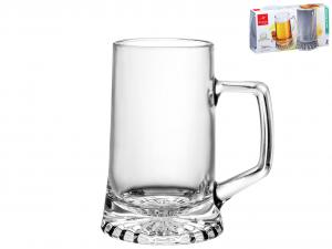 BORMIOLI ROCCO Set 6 X 2 Bicchieri In Vetro Stern Con Manico Cl26 Arredo Tavola