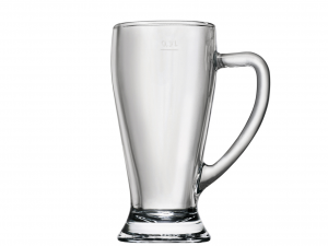BORMIOLI ROCCO Set 6 Bicchieri In Vetro Baviera Con Manico Cl 38 Arredo Tavola