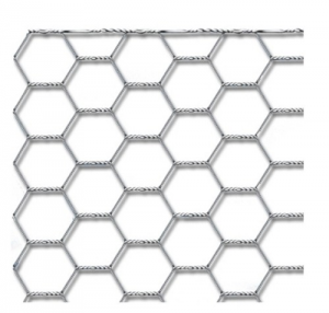 BETAFENCE Rete Hexanet 13.2 Tripla Torsione Cm 60 Mt 50 Recinzioni-Chiodi