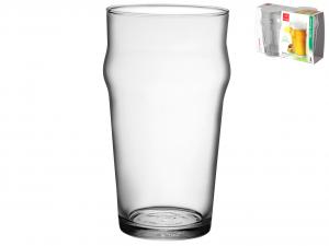 BORMIOLI ROCCO Set 12 X 2 Bicchieri In Vetro Nonix Birra Cl58 Arredo Tavola
