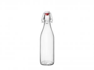 BORMIOLI ROCCO Set 12 Bottiglie Vetro Giara Con Tappo Lt0.5 Arredo Tavola