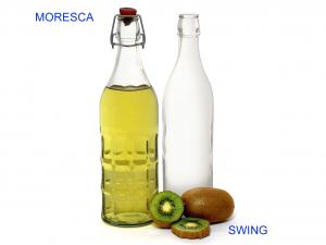 BORMIOLI ROCCO Bottiglia Vetro Moresca Con Tappo Lt1 Arredo Tavola