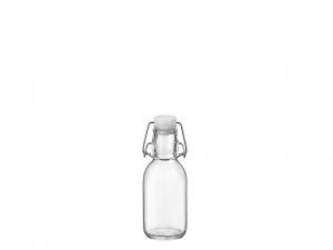 BORMIOLI ROCCO Set 12 Bottiglia Vetro Emilia Lt0,25 Tappo Bianco
