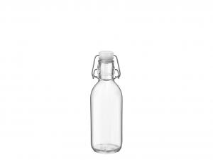 BORMIOLI ROCCO Set 12 Glasflasche Emilia Lt 0,5 White Cap