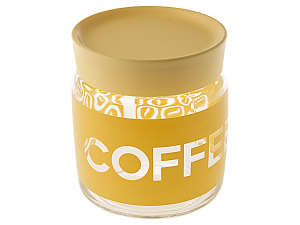 BORMIOLI ROCCO Set 6 Vasi Vetro Giara Softcoffee 0,75 T/Gl Arredo Casa
