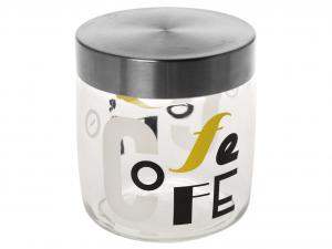 BORMIOLI ROCCO Set Set Of 6 Glass Jars Jar Letters Coff 0.75 Vases Flowers And Plants