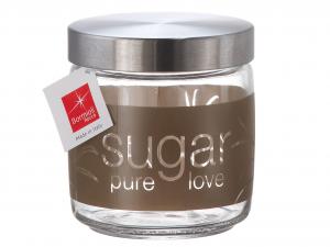 BORMIOLI ROCCO Set 6 Vasi Vetro Giara Lt0,75 Natural Sugar Contenitori Per Cibo
