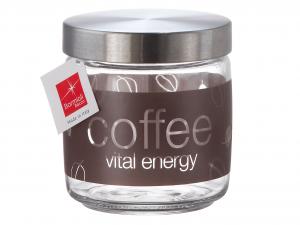 BORMIOLI ROCCO Set 6 Vasi Vetro Giara Lt0,75 Natur/Coffee Contenitori Per Cibo