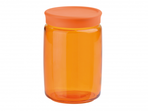BORMIOLI ROCCO Set 6 Vasi Vetro Giara Spr/Arancio Lt 1 Arredo E Decorazioni Casa