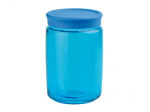 BORMIOLI ROCCO Set 6 Vessels Glass Giara Spr / Light blue Lt 1 Decoration House
