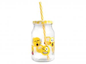 CHIO Set 6 Jar With Straw Veneers Cc450