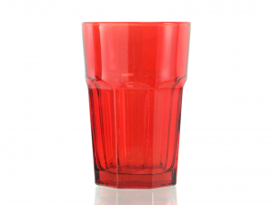 CHIO Set 6 medina drink 35 cups red Glasses and wine glasses