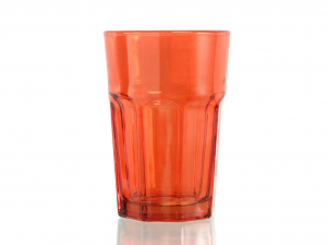 CHIO Set 6 Glasses medina 35 orange drink Glasses and wine glasses