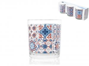 Set 12 CHIO Confezione 3 Bicchiere Maiorca Acqua Cc225