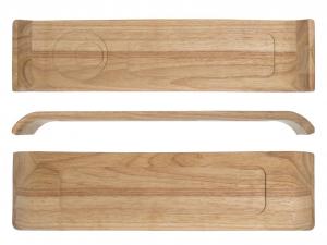 ARC hölzern Tablett Mekkano 45x12 cm Holz Küche Artikel online