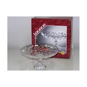 RCR Center Runden Glas Laurus Mit Fuß Dekorationen Für Den Tisch