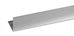 Set 5 Profilo Alluminio Cromato Angolare Mm 25X25X1 Mt 2 Recinzioni-Chiodi
