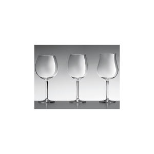 H&H Set 6 Goblets 'Xxl' Cl61 Tray 6 Glasses And Wine Glasses