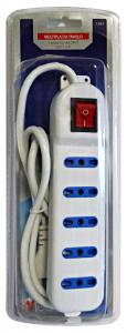Materiale Elettrico Multipla Tavolo 5 Prese 10/16A 2P+T 1583 Materiale Elettrico