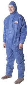 Polypropylène Coverall 3M 50 Gr / m² Tg. La protection contre les accidents