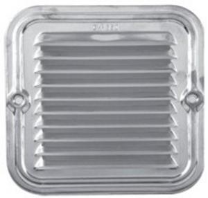 Griglia Alluminio Zincato Con Rete Cm 14X14 Edilizia