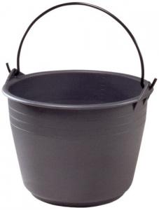 Secchio Uso Agricolo In Plastica Manico Ferro Lt 18 Giardinaggio Enologia