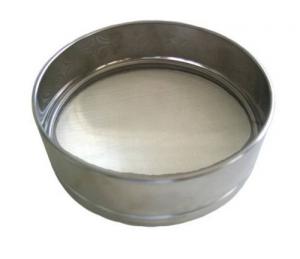 Setaccio Inox Per Farina Cm 20 - Rete Acciaio Inox Giardinaggio Animali Fattoria