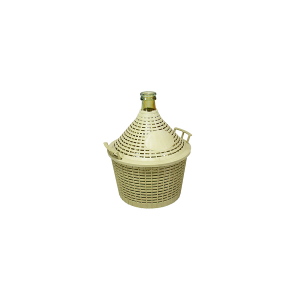 HOME Glass Carboy Plastic Basket Lt 5 Bottles And Jugs