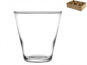 HOME Vassoio 6 Bicchieri In Vetro Fuji Cl25 Arredo Tavola