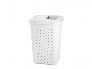TONTARELLI Arianna Dustbin Lid With Pocket White 10lt