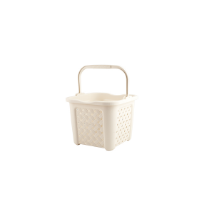 TONTARELLI Arianna Wäschekorb mit Griff 25 Liter beige Haus Artikeln