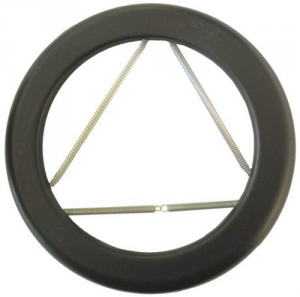 AETERNUM Ala Ring Black Enamel Opaque A Spring 10 Cm Heating