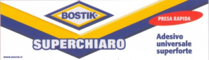 Adesivo BOSTIK Superchiaro Tubetto Gr 125 Colori