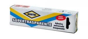 Adesivo BOSTIK Super Trasparente Gr 50 - Astuccio Colori