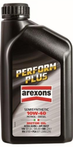 AREXONS Semisynthetic Engine Oil 10W-40 1 Lt Colors