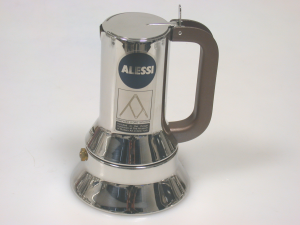 ALESSI Coffee maker Stainless steel Cups 10 Moka For the Coffee