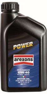 AREXONS Power Engine Oil Multigrade 15W-40 1 Lt Colors