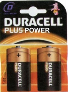 Set 10 Batterie Duracell Plus Power Alkaline Torcia Lr20/Mn1300 Pz2 Materiale Elettrico