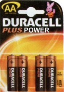 Set 20 Batterie Duracell Plus Power Alkaline Stilo Lr6/Mn1500 Pz4 Materiale Elettrico
