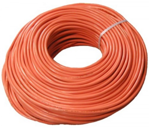MT 100 Cable Rubber Orange Superflexible 3X1,5 Imq Electric Industrial Material