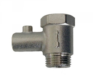 Vent valve for water heaters 1/2 Male-Female With Hydraulic Lever