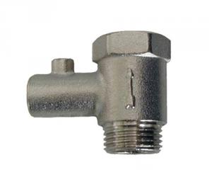 Entlüftungsventil für Warmwasserbereiter Elektrischer Anschluss 1/2 Mf Hydraulik