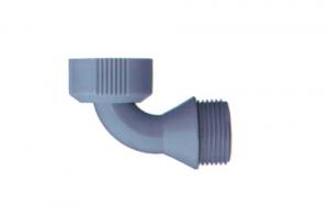 Pipa Con Ghiera Girevole M 3.4 - F 3.4 Idraulica