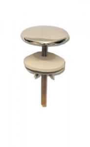 Copriforo Cromato A Tenuta Per Sanitari - Mm.50 Idraulica Sanitari